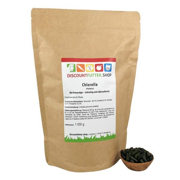 Chlorella (gemahlen) Die Poweralge – vielseitig und nährstoffreich