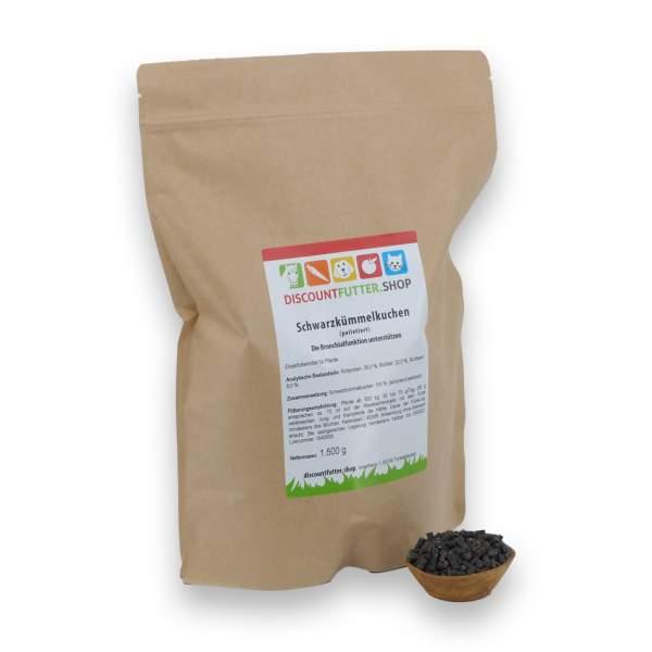 Schwarzkümmelkuchen (1,5 kg - Samen - Pellet)