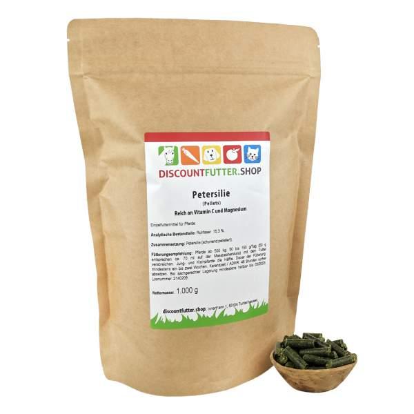 Petersilie (schonend pelletiert) Reich an Vitamin C und Magnesium