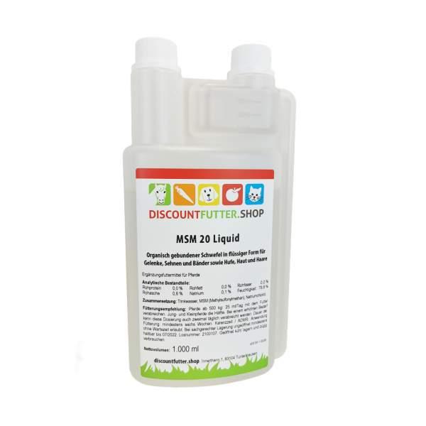 MSM 20 Liquid (1 Liter)
