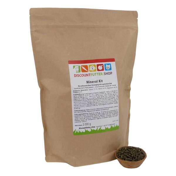Mineral Kit 2 kg - für Pferde