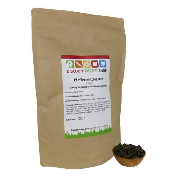 Pfefferminzblätter (pelletiert) Atmung, Verdauung und Stoffwechsel anregen