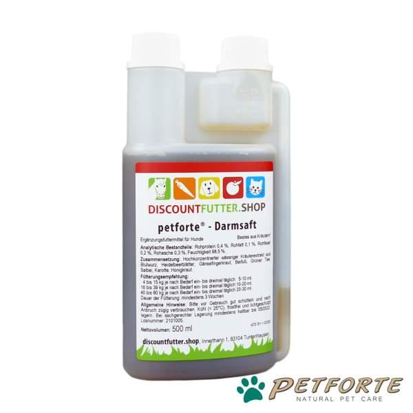 petforte - DARMSAFT (0,5 Liter)