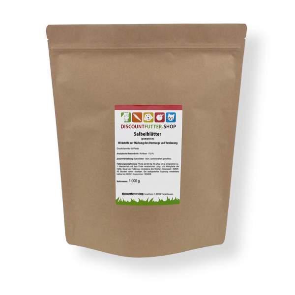 Salbeiblätter (gemahlen) Wirkstoffe zur Stärkung der Atemwege und Verdauung