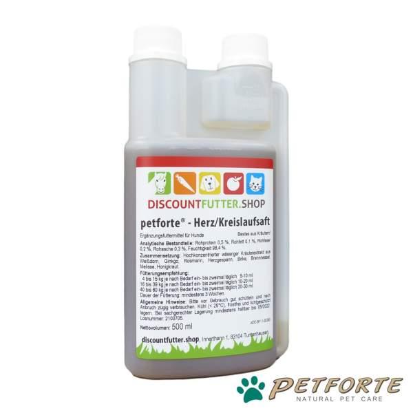petforte - Herz/Kreislaufsaft für Hunde