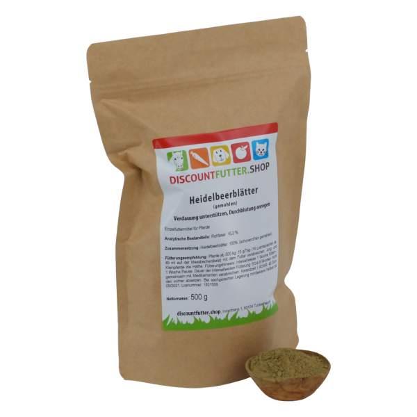 Heidelbeerblätter (gemahlen)