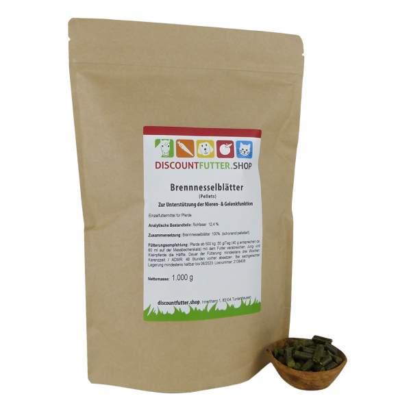 Brennnesselblätter (pelletiert) Zur Unterstützung der Nieren- & Gelenkfunktion