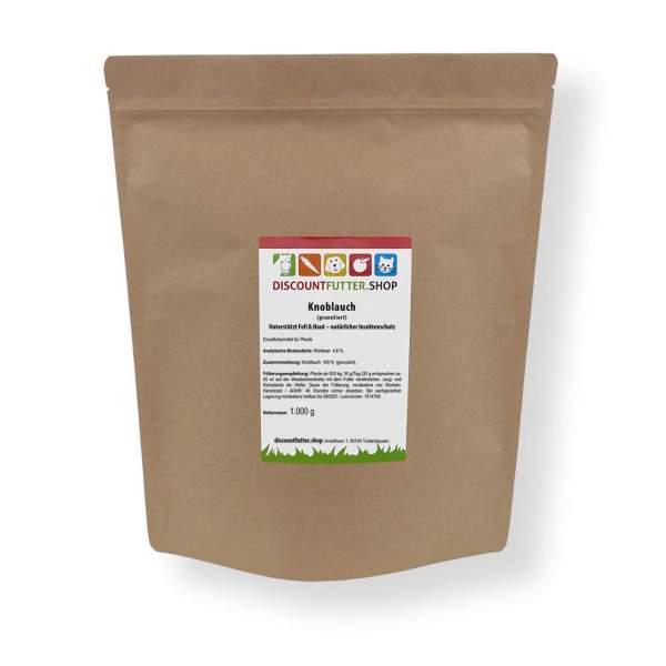 Knoblauch (granuliert) Unterstützt Fell & Haut – natürlicher Insektenschutz