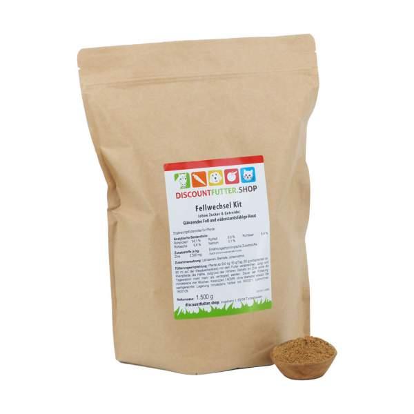 Fellwechsel Kit (ohne Zucker & Getreide) Glänzendes Fell und widerstandsfähige Haut fürs Pferd