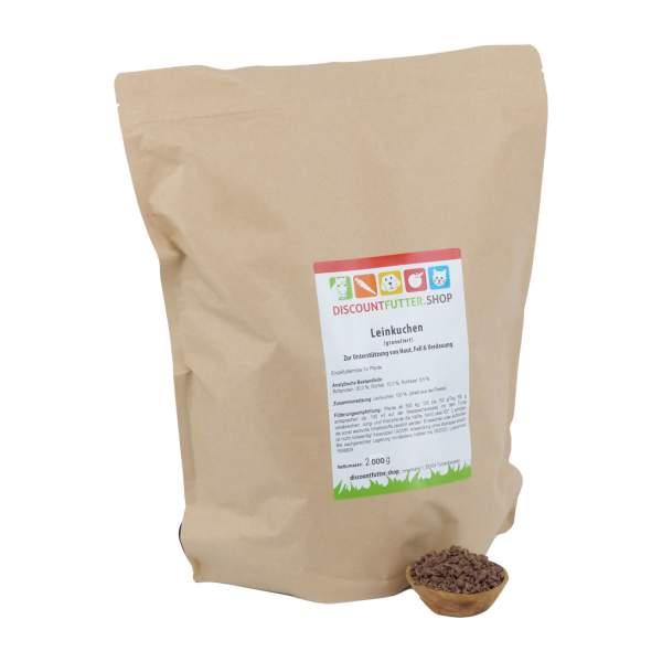 LEINKUCHEN (granuliert) Zur Unterstützung von Haut, Fell & Verdauung
